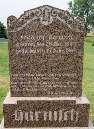 HARNISCH, FRIEDRICH - Hutchinson County, South Dakota | FRIEDRICH HARNISCH - South Dakota Gravestone Photos