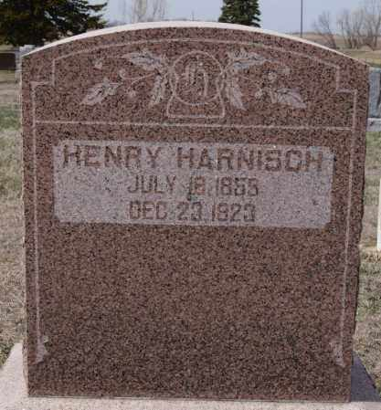 HARNISCH, HENRY - Hutchinson County, South Dakota   HENRY HARNISCH - South Dakota Gravestone Photos