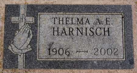HARNISCH, THELMA A E - Hutchinson County, South Dakota | THELMA A E HARNISCH - South Dakota Gravestone Photos