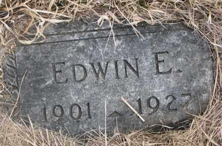 HAUCK, EDWIN E - Hutchinson County, South Dakota | EDWIN E HAUCK - South Dakota Gravestone Photos