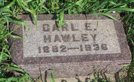 HAWLEY, CARL E. - Hutchinson County, South Dakota   CARL E. HAWLEY - South Dakota Gravestone Photos