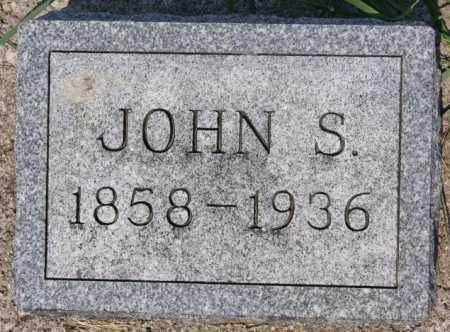 HEADLEY, JOHN S - Hutchinson County, South Dakota   JOHN S HEADLEY - South Dakota Gravestone Photos