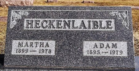HECKENLAIBLE, ADAM - Hutchinson County, South Dakota   ADAM HECKENLAIBLE - South Dakota Gravestone Photos