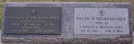 HECKENLAIBLE, HELEN H - Hutchinson County, South Dakota | HELEN H HECKENLAIBLE - South Dakota Gravestone Photos