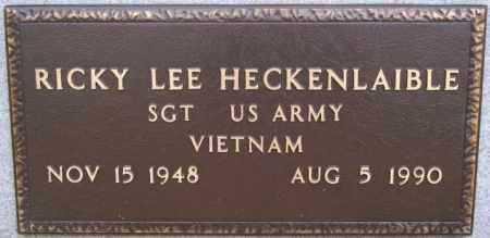 HECKENLAIBLE, RICKY LEE (VIETNAM) - Hutchinson County, South Dakota | RICKY LEE (VIETNAM) HECKENLAIBLE - South Dakota Gravestone Photos