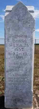 HEINRICH, MAGDALENA - Hutchinson County, South Dakota | MAGDALENA HEINRICH - South Dakota Gravestone Photos
