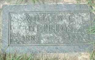 HEIRIGS, WILLIAM L. - Hutchinson County, South Dakota | WILLIAM L. HEIRIGS - South Dakota Gravestone Photos