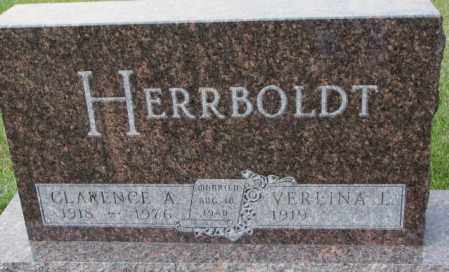 HERRBOLDT, CLARENCE A. - Hutchinson County, South Dakota   CLARENCE A. HERRBOLDT - South Dakota Gravestone Photos