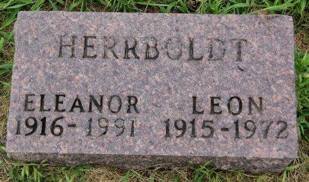 HERRBOLDT, LEON - Hutchinson County, South Dakota | LEON HERRBOLDT - South Dakota Gravestone Photos