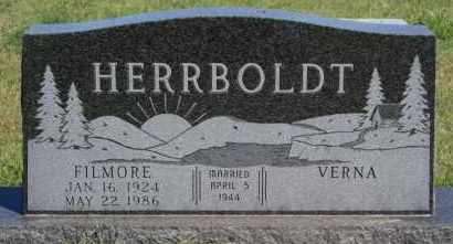 HERRBOLDT, FILMORE - Hutchinson County, South Dakota | FILMORE HERRBOLDT - South Dakota Gravestone Photos