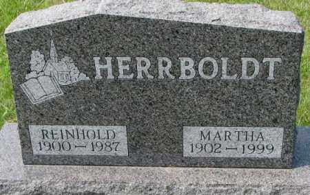 HERRBOLDT, MARTHA - Hutchinson County, South Dakota | MARTHA HERRBOLDT - South Dakota Gravestone Photos
