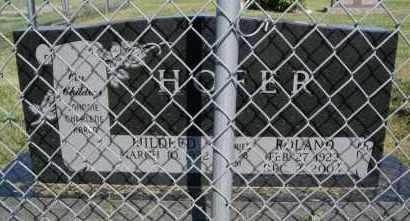 HOFER, MILDRED - Hutchinson County, South Dakota | MILDRED HOFER - South Dakota Gravestone Photos