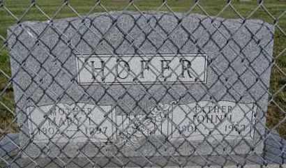 HOFER, MARY L - Hutchinson County, South Dakota | MARY L HOFER - South Dakota Gravestone Photos