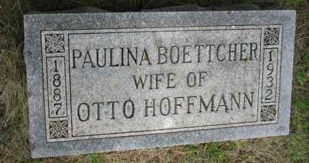 HOFFMANN, PAULINA - Hutchinson County, South Dakota | PAULINA HOFFMANN - South Dakota Gravestone Photos