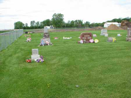 *HOFFNUNGSTAL, WIDE VIEW - Hutchinson County, South Dakota   WIDE VIEW *HOFFNUNGSTAL - South Dakota Gravestone Photos