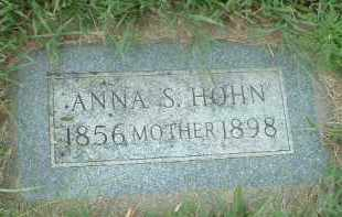 HOHN, ANNA S. - Hutchinson County, South Dakota | ANNA S. HOHN - South Dakota Gravestone Photos