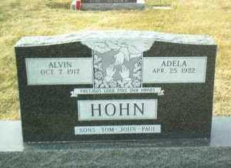 HOHN, ALVIN - Hutchinson County, South Dakota | ALVIN HOHN - South Dakota Gravestone Photos