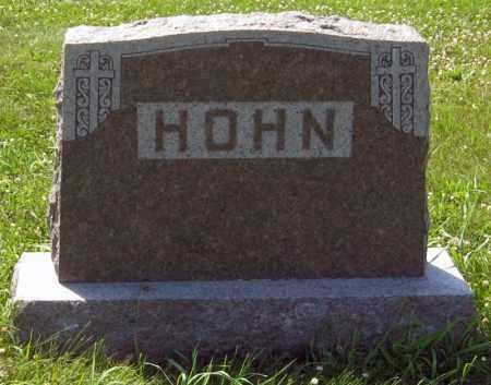 HOHN, FAMILY STONE - Hutchinson County, South Dakota | FAMILY STONE HOHN - South Dakota Gravestone Photos
