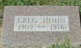 HOHN, GREG - Hutchinson County, South Dakota | GREG HOHN - South Dakota Gravestone Photos