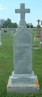 HOHN, JOHN H. - Hutchinson County, South Dakota   JOHN H. HOHN - South Dakota Gravestone Photos