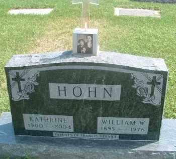 HOHN, KATHERINE - Hutchinson County, South Dakota | KATHERINE HOHN - South Dakota Gravestone Photos