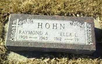 HOHN, RAYMOND - Hutchinson County, South Dakota | RAYMOND HOHN - South Dakota Gravestone Photos