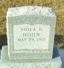 HOHN, VIOLA - Hutchinson County, South Dakota | VIOLA HOHN - South Dakota Gravestone Photos