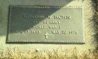 HOHN, WILLIAM - Hutchinson County, South Dakota | WILLIAM HOHN - South Dakota Gravestone Photos