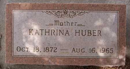 HUBER, KATHRINA - Hutchinson County, South Dakota | KATHRINA HUBER - South Dakota Gravestone Photos