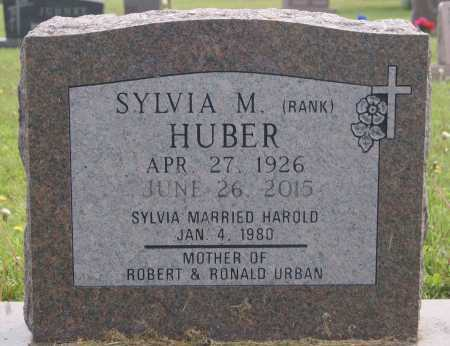 HUBER, SYLVIA M - Hutchinson County, South Dakota | SYLVIA M HUBER - South Dakota Gravestone Photos