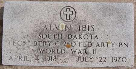 IBIS, ALVIN (WWII) - Hutchinson County, South Dakota | ALVIN (WWII) IBIS - South Dakota Gravestone Photos