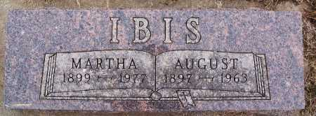 IBIS, AUGUST - Hutchinson County, South Dakota | AUGUST IBIS - South Dakota Gravestone Photos