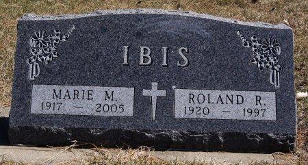 IBIS, ROLAND R - Hutchinson County, South Dakota | ROLAND R IBIS - South Dakota Gravestone Photos