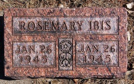 IBIS, ROSEMARY - Hutchinson County, South Dakota | ROSEMARY IBIS - South Dakota Gravestone Photos