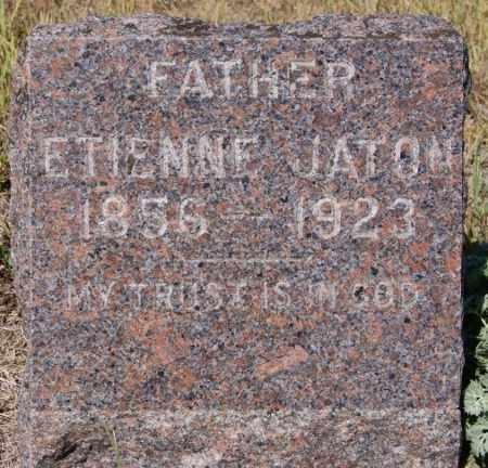 JATON, ETIENNE - Hutchinson County, South Dakota | ETIENNE JATON - South Dakota Gravestone Photos