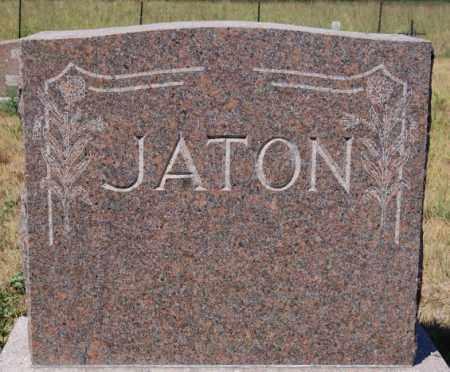 JATON, FAMILY MARKER - Hutchinson County, South Dakota   FAMILY MARKER JATON - South Dakota Gravestone Photos