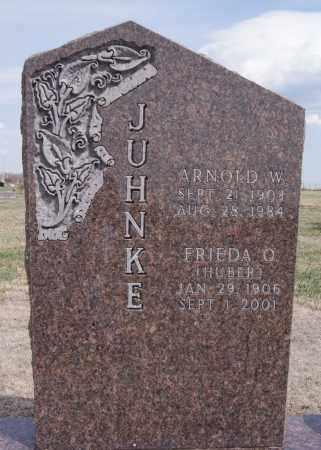 HUBER JUHNKE, FRIEDA O - Hutchinson County, South Dakota | FRIEDA O HUBER JUHNKE - South Dakota Gravestone Photos