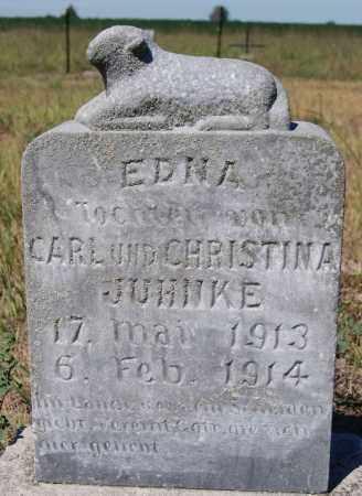 JUHNKE, EDNA - Hutchinson County, South Dakota | EDNA JUHNKE - South Dakota Gravestone Photos