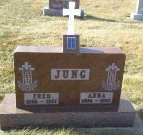 JUNG, FRED - Hutchinson County, South Dakota | FRED JUNG - South Dakota Gravestone Photos