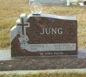 JUNG, DONALD - Hutchinson County, South Dakota   DONALD JUNG - South Dakota Gravestone Photos