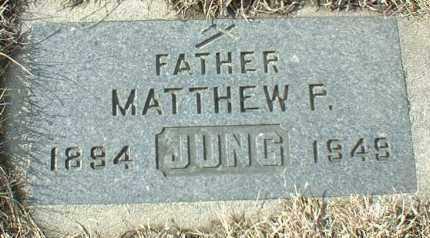 JUNG, MATTHEW - Hutchinson County, South Dakota   MATTHEW JUNG - South Dakota Gravestone Photos