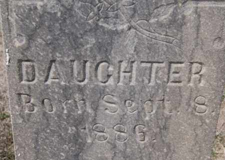 KEIPER, DAUGHTER - Hutchinson County, South Dakota | DAUGHTER KEIPER - South Dakota Gravestone Photos