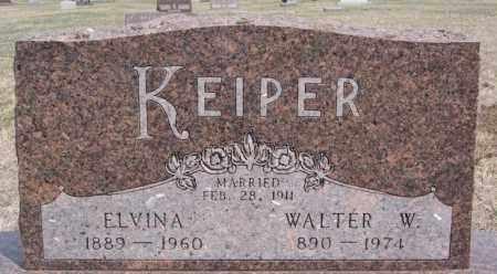 KEIPER, WALTER W - Hutchinson County, South Dakota | WALTER W KEIPER - South Dakota Gravestone Photos