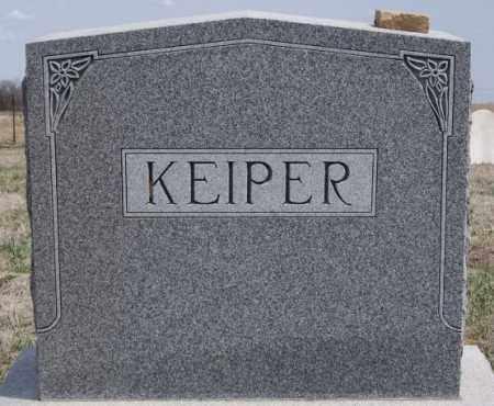 KEIPER, FAMILY MARKER - Hutchinson County, South Dakota | FAMILY MARKER KEIPER - South Dakota Gravestone Photos