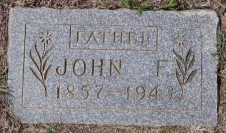 KEIPER, JOHN F - Hutchinson County, South Dakota | JOHN F KEIPER - South Dakota Gravestone Photos