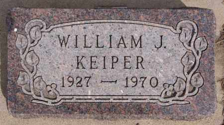 KEIPER, WILLIAM J - Hutchinson County, South Dakota | WILLIAM J KEIPER - South Dakota Gravestone Photos