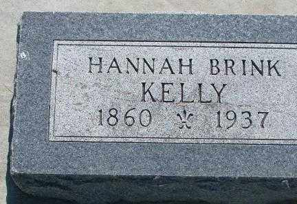 KELLY, HANNAH - Hutchinson County, South Dakota   HANNAH KELLY - South Dakota Gravestone Photos