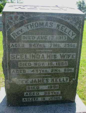 KELLY, SCELINDA - Hutchinson County, South Dakota | SCELINDA KELLY - South Dakota Gravestone Photos