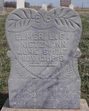 KIETZMANN, ELMER L G - Hutchinson County, South Dakota | ELMER L G KIETZMANN - South Dakota Gravestone Photos