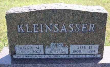 KLEINSASSER, JOE D - Hutchinson County, South Dakota | JOE D KLEINSASSER - South Dakota Gravestone Photos